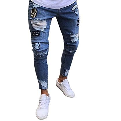Ansenesna-Hose-Herren-Sommer-Lang-Eng-Jeans-mit-Reisverschluss-Destroyed-Freizeithose-Mnner-Denim-Zerrissen-Outdoor-Slim-Hosen