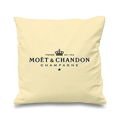 Moet-Champagner-schwarz-creme-Kissen-432-cm-View-amazon-detail-page