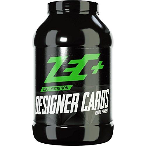 ZEC+ DESIGNER CARBS | schnelle Kohlenhydrat-Formel mit Cluster Dextrin® und WMS | ideal vor, während und nach dem Training | schnelle Regeneration | verbessertes Muskelwachstum | 1000g