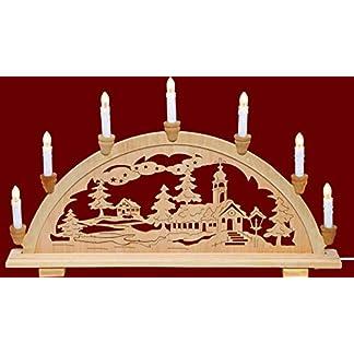 yanka-style-Schwibbogen-Lichterbogen-Leuchter-Dorfkirche-traditionelles-Motiv-7flammig-Weihnachten-Advent-Geschenk-Dekoration-83142