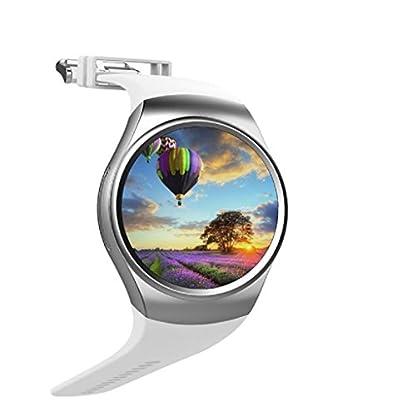-Loveso–Smartwatch-Smart-Uhren-KW18-Bluetooth-Handgelenk-SIM-Karten-Anruf-Smartwatch-Smartband-Pedometer-Mate-fr-iOS-und-AndroidSilber