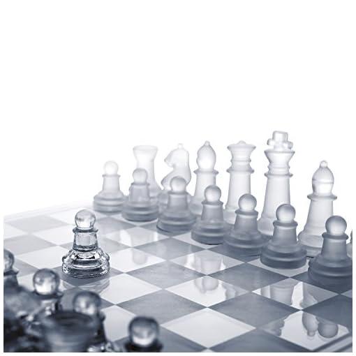 Global-Gizmos-Schach-und-Damespiel-aus-Benross-Glas-2-in-1