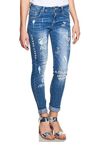 Candy Dresses – Skinny Jeans mit Zeichnungen