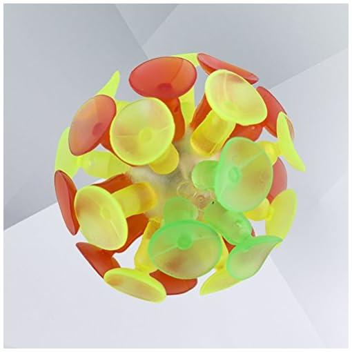 TOYMYTOY-4-STCKE-Kinder-Mehrfarbige-Saugnapf-Ball-Flash-Luminescence-Spielzeug-Party-Spielzeug-fr-Kinder