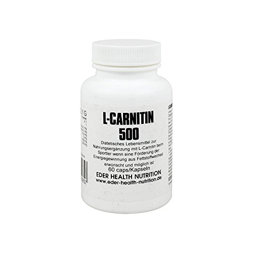 L-CARNITIN 500 mg Kapseln, 60 St