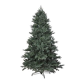 RS-Trade-1418-PE-Spritzguss-Weihnachtsbaum-knstlich-150-cm–ca-106-cm-mit-ca-2375-Spitzen-schwer-entflammbarer-Tannenbaum-mit-Schnellaufbau-Klappsysem-inkl-Metall-Christbaum-Stnder