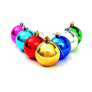 FeiliandaJJ-12PCS-3CM-Weihnachtskugel-Kugel-Weihnachten-Deko-Anhnger-Christbaumkugeln-fr-Weihnachtsbaum-Party-Home-Hochzeit