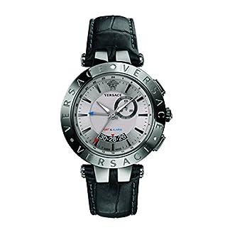 Versace-Herren-29-g98d535-S009-V-Race-GMT-Alarm-Analog-Display-Quartz-Black-Watch