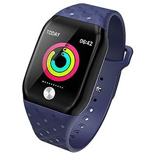 Balock-Schuhe-Intelligentes-ArmbandSport-Fitness-Uhr-Aktivittstracker-Smart-WatchIP67-Wasserdichte-Herzfrequenz-Tracker-Blutdruck-UhrMulti-Functionsmart-Schrittzhler-Smartwatchfr-Damen-Herren