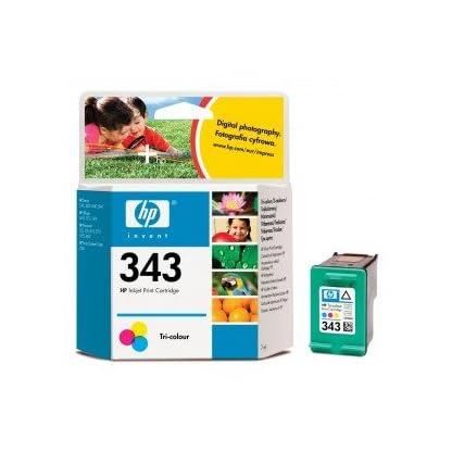 Original-Tinte-HP-Nr-343-C8766EE-1-Tinten-Patrone-Cyan-Magenta-Gelb-260-Seiten-7-ml