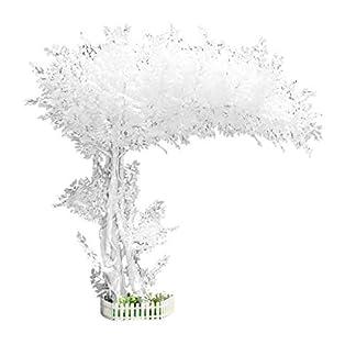 XUANLAN-Realistischer-knstlicher-Baum-Simulation-Eukalyptus-Knstlicher-Baum-Geflschter-Baum-Groe-Pflanze-Wei-Simulation-Baum-Hotelhalle-Fotostudio-Requisiten-Leicht-zu-reinigen