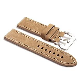 watchassassin-Leder-handgenht-Armband–Ersatz-Uhrenarmband-mit-Schnalle