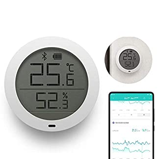 FOONEE-Digital-Hygrometer-Innenthermometer-Bluetooth-drahtloser-APP-Steuern-Genaues-Temperatur-Feuchtigkeits-Monitor-Meter-fr-Haus-Innen-und-Im-Freien