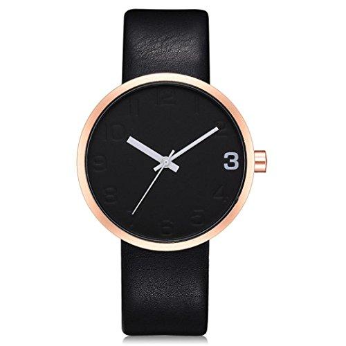 Dragon868-Damen-Herren-Armbanduhr-Einfache-Mnner-Runde-Herren-Retro-Business-Lederband-Uhr