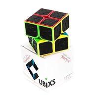 CUBIXS-Zauberwrfel-Typ-New-York-mit-Carbon-Sticker-Speedcube-mit-optimierten-Eigenschaften-fr-Speed-Cubing
