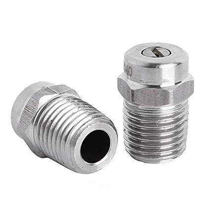 Tiaobug-2Pcs-Dse-fr-Hochdruckreiniger-Universal-Ersatzteile-Schraube-ffnungsgre-12-mm-005-Zoll