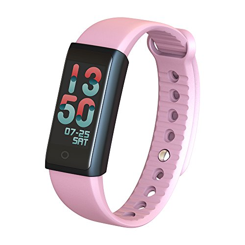 BT40-Smart-Wrist-Band-096-Bunte-Touchscreen-Smart-Armband-Fitness-Tracker-Puls-Schrittzhler-Schlaf-Monitor-Alarm-Kompatibel-IOS-Android