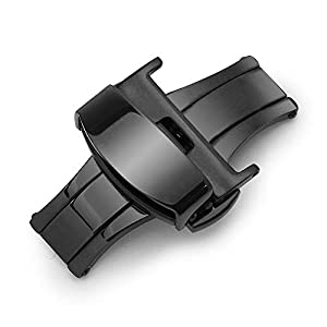 Sulla-Butterfly-Edelstahl-316L-Faltschliee-fr-Uhrenarmbnder-16mm-18mm-20mm