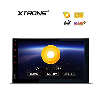 XTRONS-7-Touch-Screen-Double-Din-Autoradio-mit-Android-80-Octa-Core-untersttzt-3G-4G-Bluetooth-2Din-4GB-RAM-32GB-ROM-DAB-OBD2-TPMS-Auto-Multimedia-Player-TE706PL