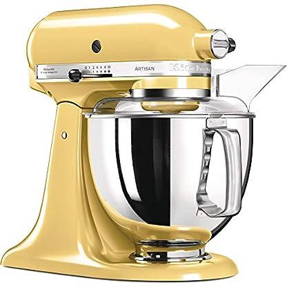 KitchenAid-Kchenmaschine-Artisan-48L-Pastell-Gelb