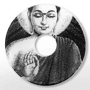 Ring Ding, Scheibe, Acryl Scheibe 28mm Buddha