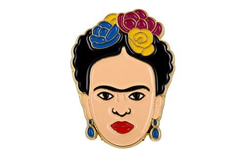 Gudeke Frida Kahlo Pin Weich Emaille Abzeichen Broschen