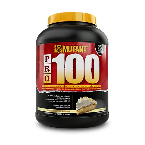 Mutant – Pro-100 ( 4lbs – 1800g ) – Banana Cream Pie