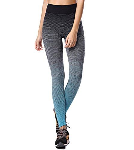 qutool Damen Sport Hose Yoga Leggings Strumpfhosen Workout Hose Running Hose