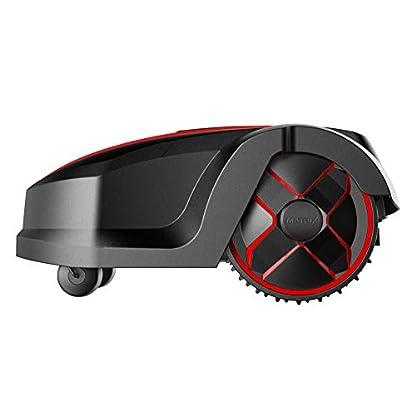 Matrix-Roboter-Rasenmher-Automowtic-Mow-800-bis-zu-800-Quadratmeter-4-Ah-Li-Ionen-Akku-inkl-Begrenzungsdraht-brstenloser-Motor