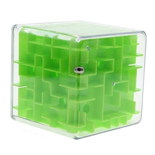 Zauberwrfel-Labyrinth-3D-Labyrinth-Puzzle-Spiel-Rollen-Spielzeug-Kind-Erwachsene-Grn