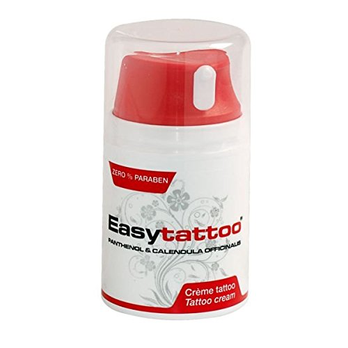 eeddoo® Easytattoo® Tattoo Creme – 50ml (Tattoo Pflege Care Ink Abheilung)