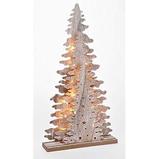 Holz-Fensterdeko-Tannenbaum-45-cm-Tisch-Deko-Leuchte-mit-15-LED-Weihnachtsdeko
