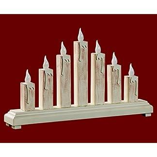 yanka-style-LED-Schwibbogen-Lichterbogen-Leuchter-Kerzen-mit-7-LEDs-Antik-Wei-aus-Holz-ca-37-x-22-cm-mit-Trafo-Weihnachten-Advent-Geschenk-Dekoration-84471