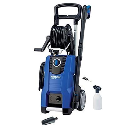 Nilfisk-E-1453–10-H-TRA-Upright-Electric-500-400Lh-2100-W-Black-Blue-Pressure-Washer–Pressure-Washers-Upright-Electric-Black-Blue-aluminium-500-400