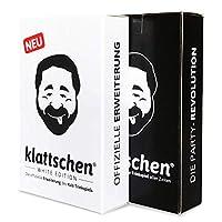DENKRIESEN-klattschen-Doppelpack-klattschen-klattschen-White-Edition-Die-wahrscheinlich-besten-Trinkspiele-Aller-Zeiten