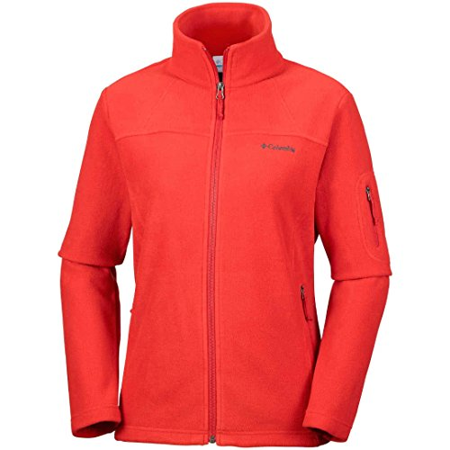 Columbia Damen Fast Trek II Full Zip Fleece, Fleecejacke Damen mit Reißverschluss (Outdoorjacke für jede Jahreszeit mit extra Sicherheitstasche)