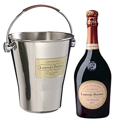 Laurent-Perrier-Rose-Champagne-with-Ice-Bucket-75-cl