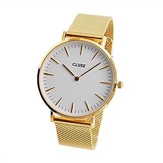 Cluse-Damen-Armbanduhr-Analog-Quarz-Edelstahl-CL18109
