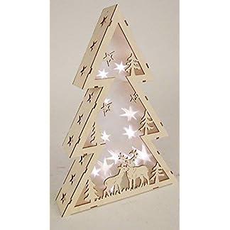 LED-Dekoleuchte-Stern-oder-Tanne-im-3D-Design-aus-Echtholz