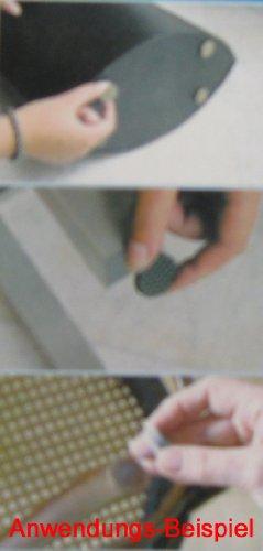 Filzgleiter SET selbstklebend 125-teilig, Möbel Filz Gleiter, Möbelgleiter, Stoff (LHS)