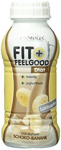 Layenberger Fit + Feelgood Diät-Shake fixfertig Schoko-Banane, 6er Pack (6 x 312 ml)