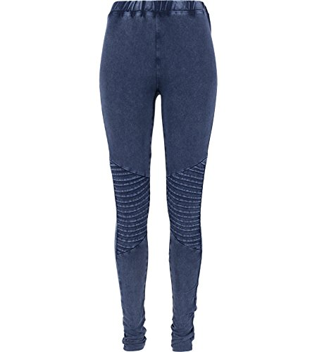 Urban Classics Damen Sport Legging Leggings Denim Jersey