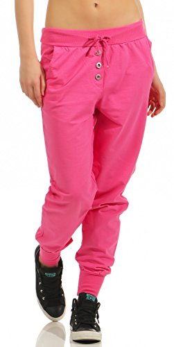 Damen Freizeithose Sporthose Sweat Pants lang (623)