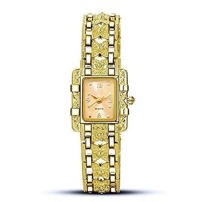 Folowe-Frauen-beilufige-quadratische-Form-Rhinestone-Wlbungs-Verschluss-analoge-Quarz-Armbanduhr-Uhren