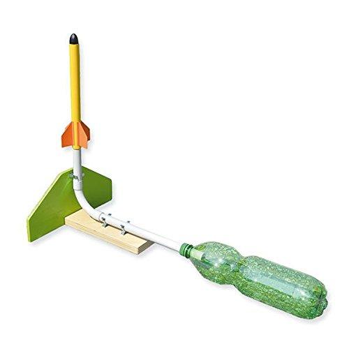 matches21-Wasserdruck-Rakete-mit-Pet-Flasche-als-Antrieb-Bausatz-Bastelset-Werkset-f-Kinder-ab-12-Jahren