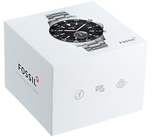 Fossil-Herren-Hybrid-Smartwatch-Q-Crewmaster-Edelstahl-Silber-Analoge-Mnneruhr-im-sportlichen-modernen-Design-mit-Smartfunktionen-Fr-Android-iOS