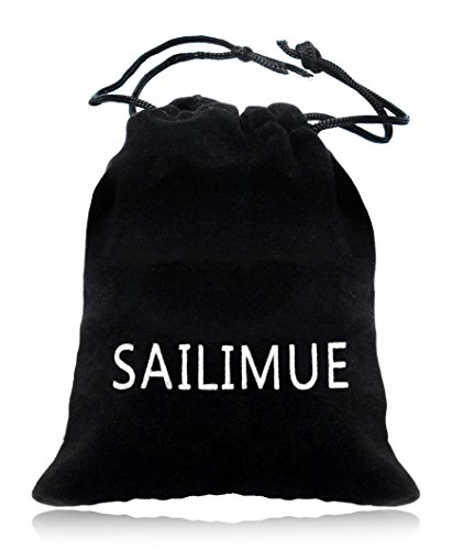 sailimue Schmuck Edelstahl 10 Stück Piercing Nase Stecker Damen Spirale Set Zirkonia 1.5-3.5MM