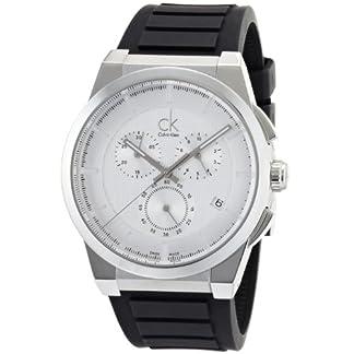 Calvin-Klein-K2S371D6–Armbanduhr-Armband-aus-Gummi