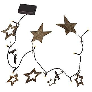 Star-LED-LichterketteNature-Star-16-teilig-Kabel-braun-Holzsterne-16-warmwei-LED-Timer-Lange-150-m-batteriebetrieben-Sichtkarton-726-78