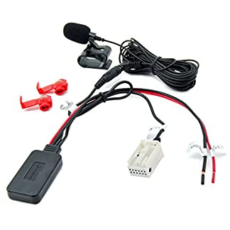 Watermark-WM-BTMIC35-Bluetooth-AUX-Adapter-Mercedes-Audio-20-50-APS-Comand-NTG-2-Navi-Radio-Telefonieren-Musik-Streaming-MP3